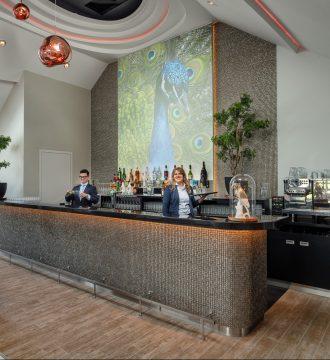 Bar in de grote zaal