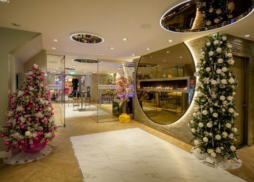 Kerstsfeer locatie